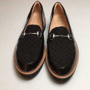 Naturalizer Black Patent Loafers Size 11
